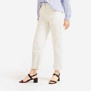 Everlane Straight Leg Crop Corduroy
